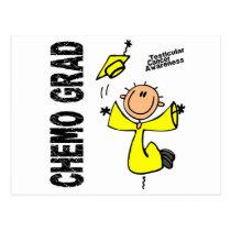 Testicular Cancer CHEMO GRAD 1 Postcard