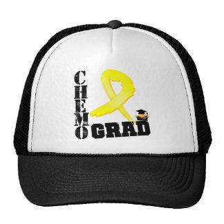 Testicular Cancer Chemo Grad Trucker Hat