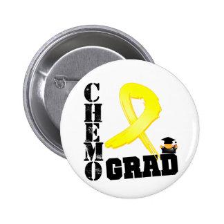 Testicular Cancer Chemo Grad Pins