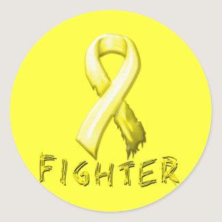 Testicular Cancer Classic Round Sticker