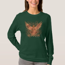 Testicular Cancer Eagle Ladies Nano Long Sleeve T-Shirt