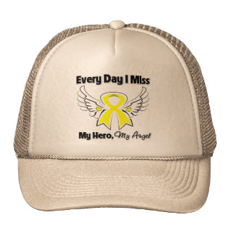 Testicular Cancer Every Day I Miss My Hero Trucker Hat