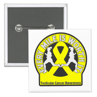 Testicular Cancer Every Mile Is Worth It Pins