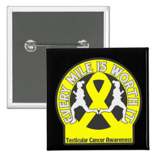 Testicular Cancer Every Mile Is Worth It Pin