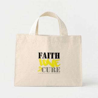 Testicular Cancer Faith Love Cure Bag