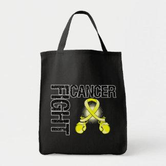 Testicular Cancer Fight Boxing Gloves Bag