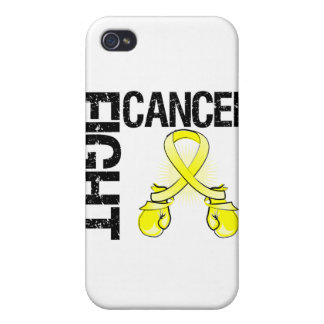 Testicular Cancer Fight Boxing Gloves iPhone 4 Covers