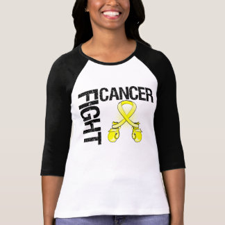 Testicular Cancer Fight Boxing Gloves Shirt