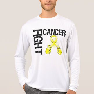 Testicular Cancer Fight Boxing Gloves T-shirts