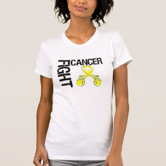 Testicular Cancer Fight Boxing Gloves Tee Shirts
