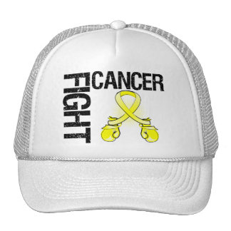Testicular Cancer Fight Boxing Gloves Trucker Hat
