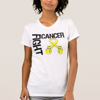 Testicular Cancer Fight Boxing Gloves Tshirt