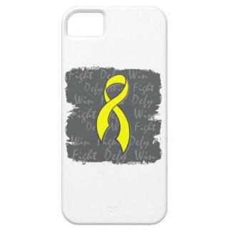 Testicular Cancer Fight Defy Win iPhone 5 Case