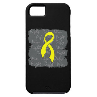 Testicular Cancer Fight Defy Win iPhone 5 Cover
