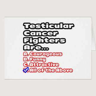 Testicular Cancer Fighter Quiz Card