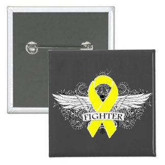 Testicular Cancer Fighter Wings v2 Button
