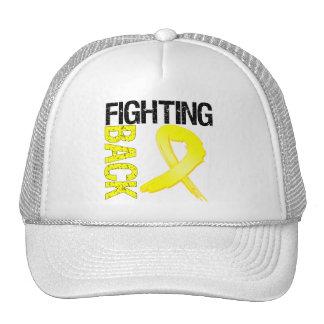 Testicular Cancer Fighting Back Trucker Hat