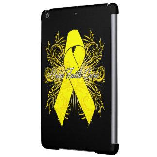 Testicular Cancer Flourish Hope Faith Cure iPad Air Covers