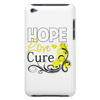 Testicular Cancer Hope Love Cure iPod Touch Case-Mate Case
