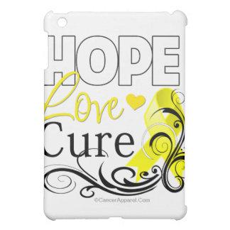 Testicular Cancer Hope Love Cure iPad Mini Covers