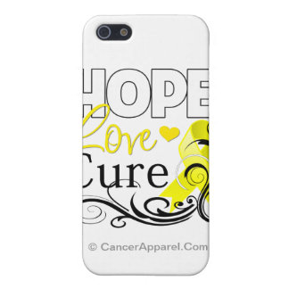 Testicular Cancer Hope Love Cure Covers For iPhone 5