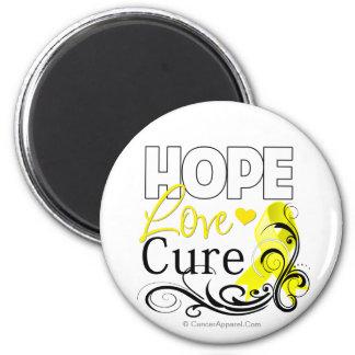 Testicular Cancer Hope Love Cure Magnet
