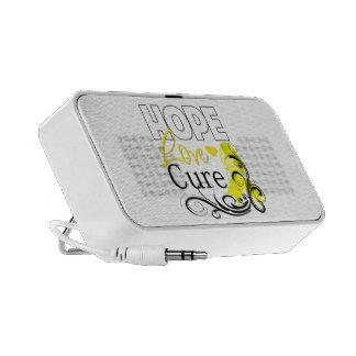 Testicular Cancer Hope Love Cure Mp3 Speakers