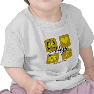 Testicular Cancer Hope Love Inspire Awareness Shirts