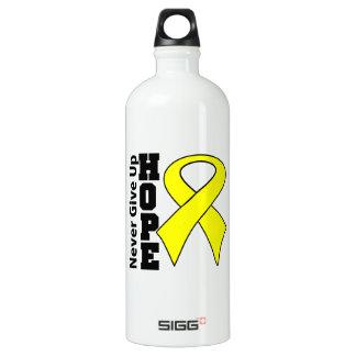 Testicular Cancer Hope Never Give Up SIGG Traveler 1.0L Water Bottle