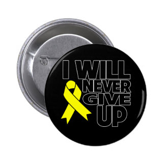 Testicular Cancer I Will Never Give Up.png Button