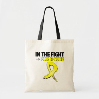 Testicular Cancer In The Fight For a Cure Canvas Bag
