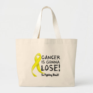 Testicular Cancer is Gonna Lose Canvas Bag