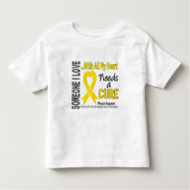 Testicular Cancer Needs A Cure 3 Toddler T-shirt
