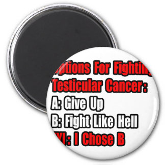 Testicular Cancer Options Magnets
