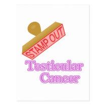 Testicular Cancer Postcard