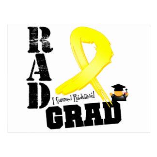 Testicular Cancer Radiation Therapy RAD Grad Postcard