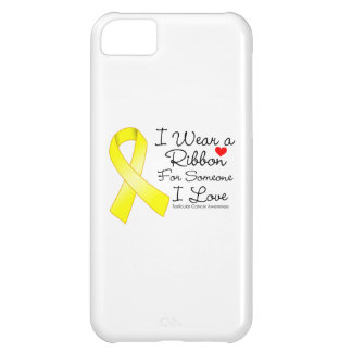 Testicular Cancer Ribbon Someone I Love iPhone 5C Cases