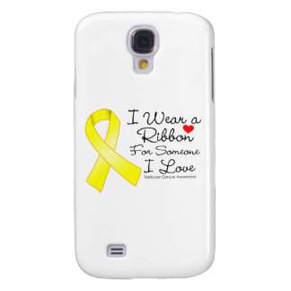 Testicular Cancer Ribbon Someone I Love Samsung Galaxy S4 Covers