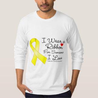 Testicular Cancer Ribbon Someone I Love Shirts
