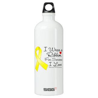 Testicular Cancer Ribbon Someone I Love SIGG Traveler 1.0L Water Bottle