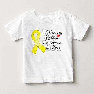 Testicular Cancer Ribbon Someone I Love Tshirt