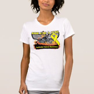 Testicular Cancer Ride For a Cure T Shirt