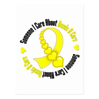 Testicular Cancer Someone I Care Needs A Cure Postcard