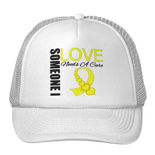 Testicular Cancer Someone I Love Needs A Cure Trucker Hats