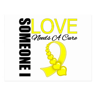 Testicular Cancer Someone I Love Needs A Cure Postcard