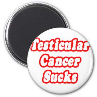 Testicular Cancer Sucks Refrigerator Magnets
