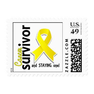 Testicular Cancer Survivor 19 Postage Stamps
