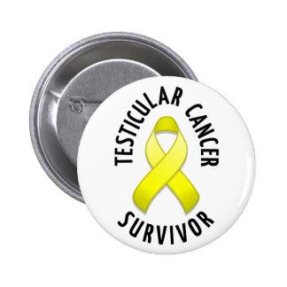 Testicular Cancer Survivor Button