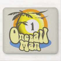 Testicular Cancer Survivor Humor Mouse Pad