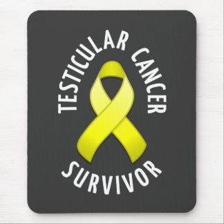 Testicular Cancer Survivor Mousepad